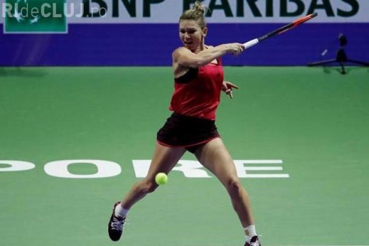 Halep pierde al doilea meci de la Turneul Campioanelor. Caroline Wozniacki a bătut categoric
