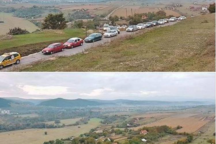 Centura de Nord Florești - Grigorescu e blocată dimineața. La ce oră să porniți de acasă - FOTO
