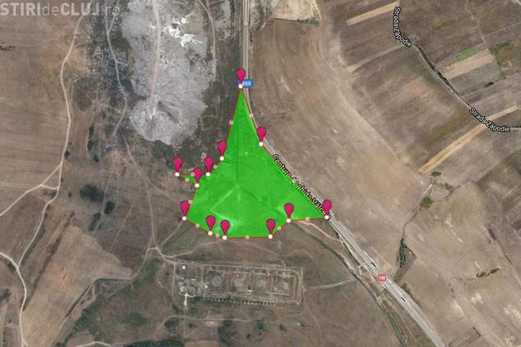 Cluj: Lacul de LEVIGAT (apă contaminată de pe rampa de gunoi) e mai mare ca parcul Feroviarilor - VIDEO