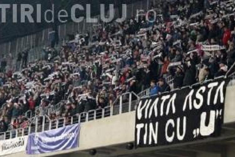 U Cluj - Olimpia Satu Mare 2-0. Clujenii avansează în Cupa României