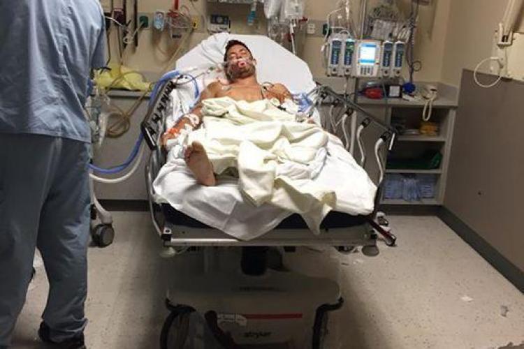 Luca Iclodean, clujeanul împușcat în Las Vegas, este mai bine. Cum a decurs operația
