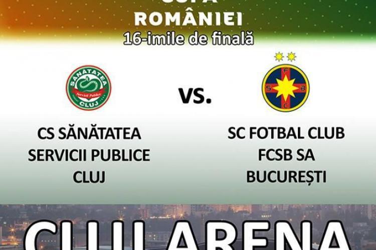 Sănătatea Cluj - Steaua, pe Cluj Arena. Cât costă biletele
