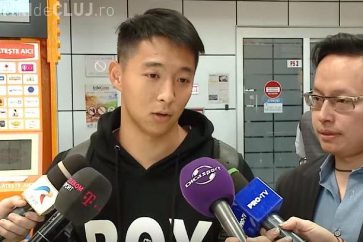 CFR Cluj a transferat un fotbalist chinez! E primul din istoria Ligii 1 - VIDEO