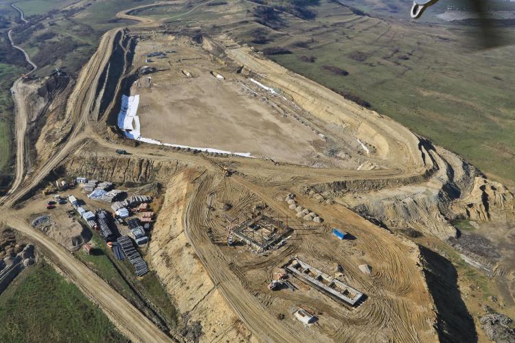 Depozitul de deșeuri al Clujului va fi terminat în a doua jumătate a anului 2018