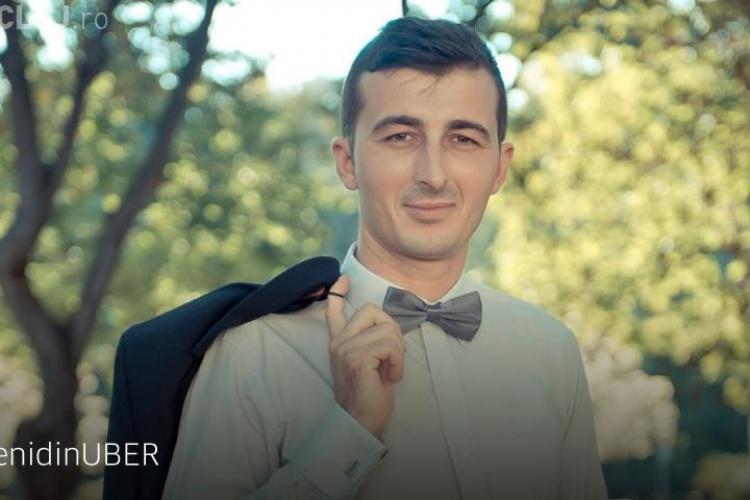 #OamenidinUBER: Alin, omul care aduce zâmbete