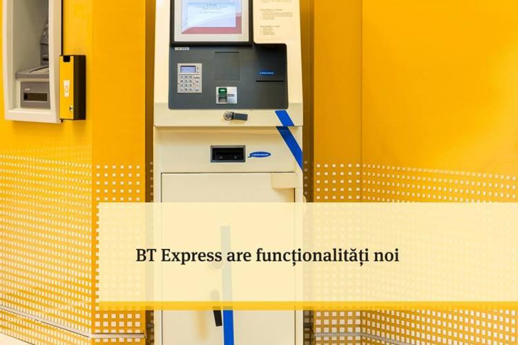 Automatul BT Express (Facturel) are funcționalități noi