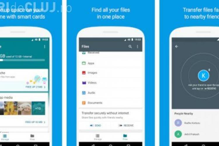 Google lansează o aplicație prin care simplifică transferul de fișiere între telefoane