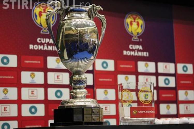U Cluj -Dinamo, meci în optimile Cupei României