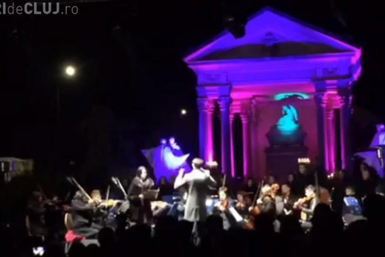 Concert în Cimitirul Central din Cluj-Napoca, de Luminație VIDEO