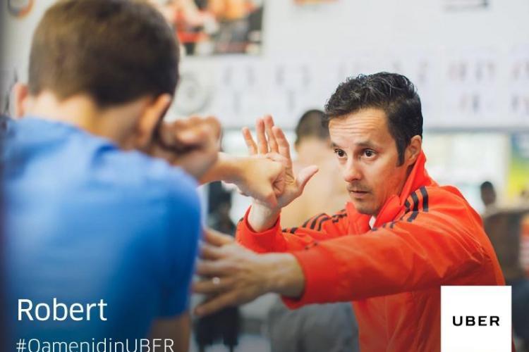 #OamenidinUBER: Robert, antrenorul de box
