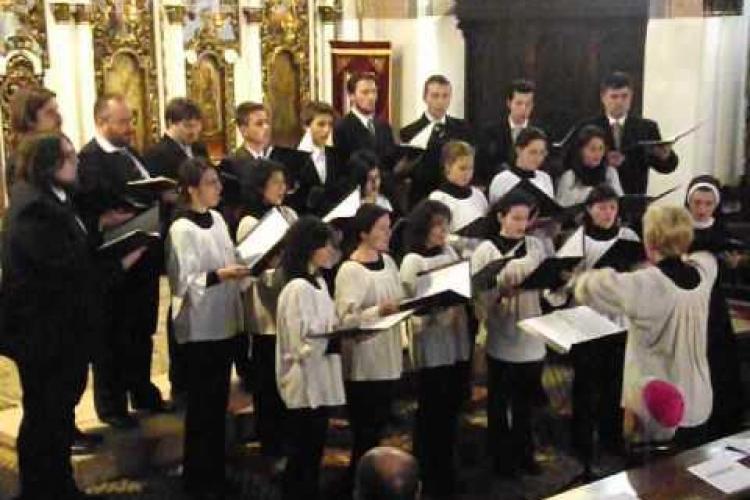 """Weekend cu muzică religioasă la Cluj. Vezi când are loc festivalul de muzică corală """"Armonii Sacre"""""""