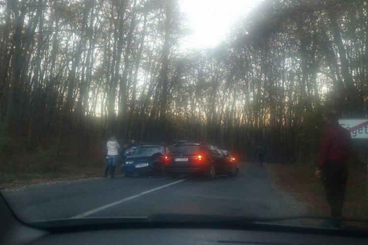 Accident cu trei mașini în Făget! - FOTO