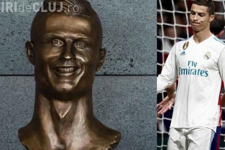 Cristiano Ronaldo are o statuie pe măsură - FOTO