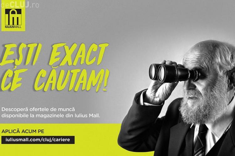 Iulius Mall Cluj te ajută să îți dezvolți o carieră în retail. Descoperă posturile vacante direct pe site! (P)