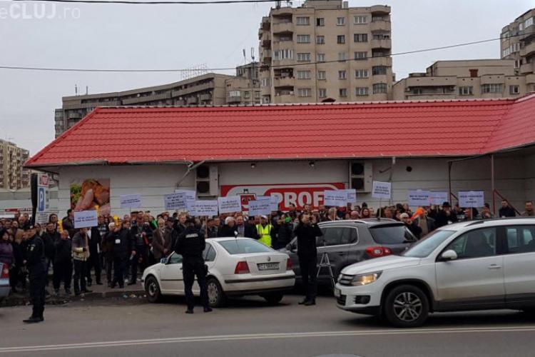 Sindicaliștii de la Aeroportul Cluj au protestat și joi împotriva conducerii Consiliului Județean Cluj