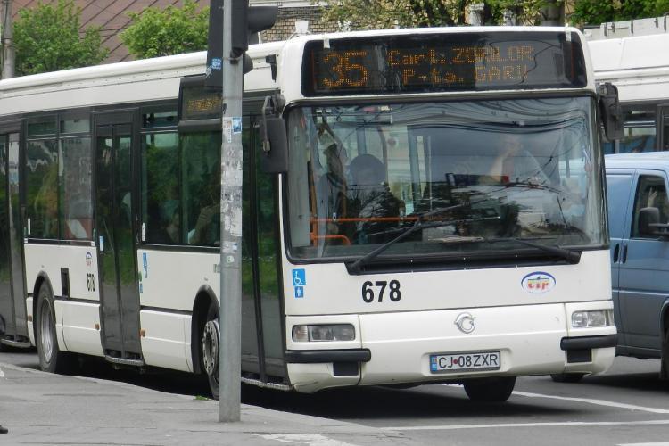 Cluj-Napoca: Transport public gratuit pentru stramutati, refugiati, deportati, detinuti politici și persoane cu dizabilități