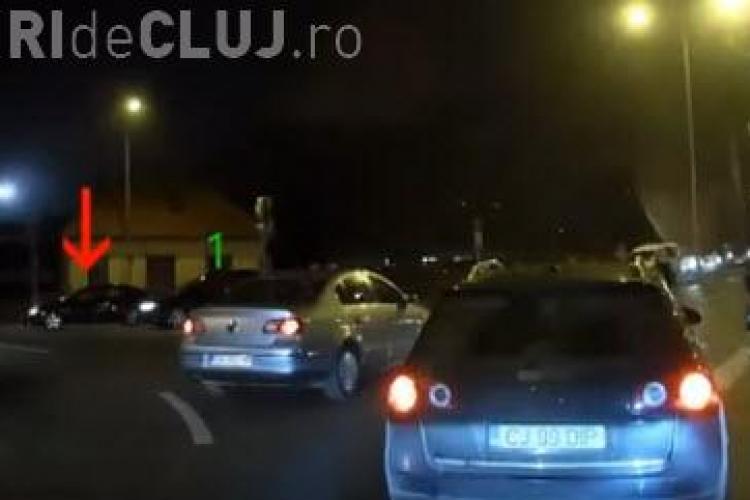 Cluj: De ce trebuie să înjurăm în trafic? Situația REALĂ într-un sens giratoriu - VIDEO
