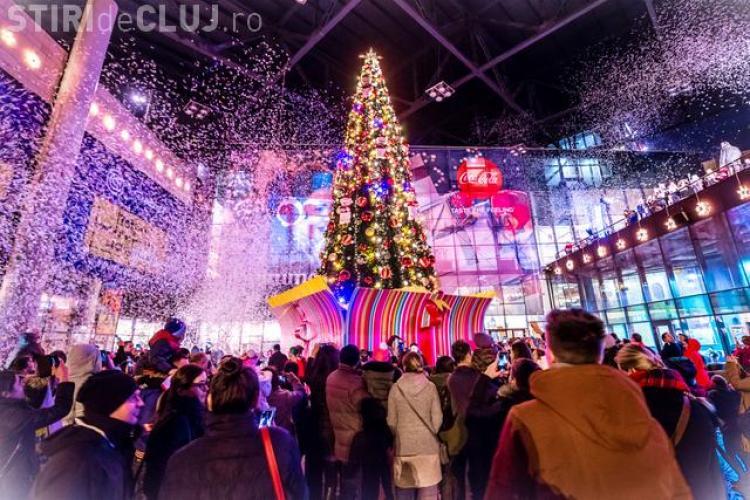 """Iulius Mall Cluj deschide """"Fabrica de cadouri"""" și oferă 6.000 de premii clienților săi"""