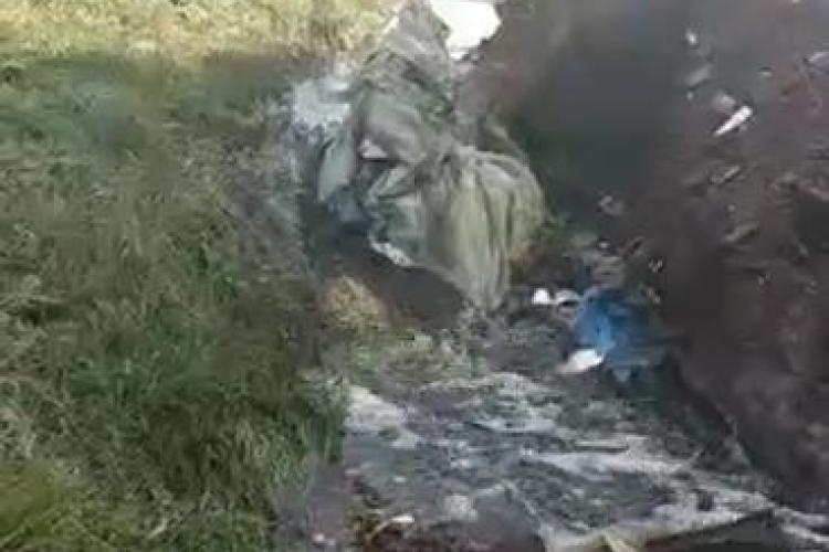 Levigatul de la Pata Rât curge spre Someș - VIDEO