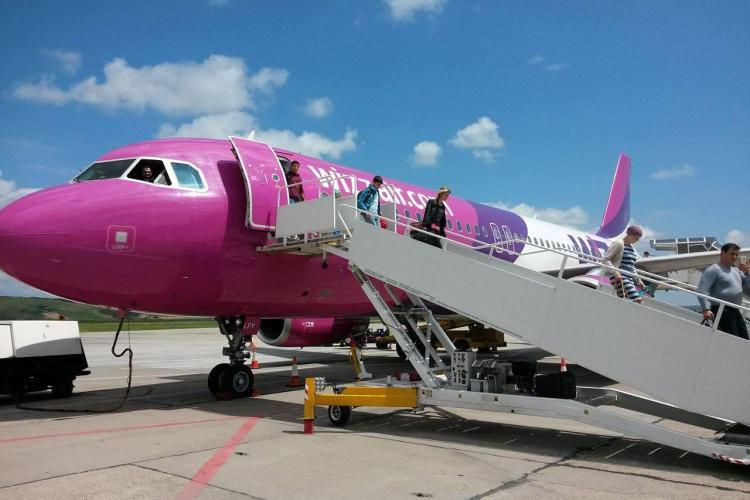 Wizz Air are azi reducere la zboruri