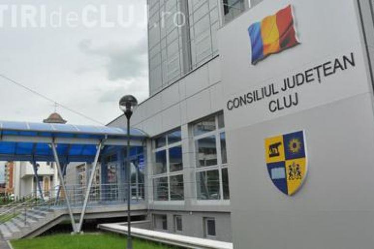 Sindicaliștii de la Consiliul Județean Cluj răspund protestului sindicaliștilor de la Aeroportul Cluj