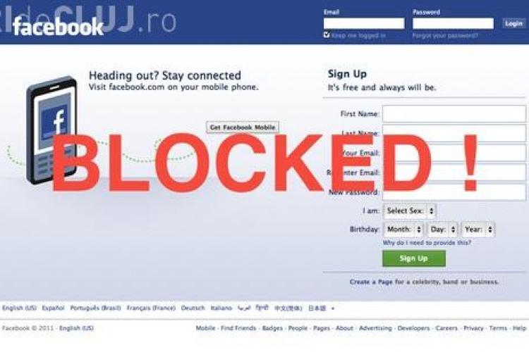 De ce sunt blocate conturile de Facebook pe fondul protestelor din România