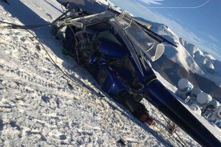 Elicopterul patronului Dunca Expediţii s-a răsturnat fiind luat de vânt. Milionarul recunoaște că a GAFAT
