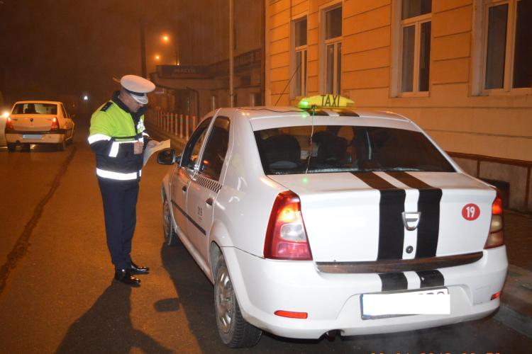 Razie în trafic pe mai multe drumuri din Cluj. S-au dat amenzi de peste 10.000 de lei FOTO