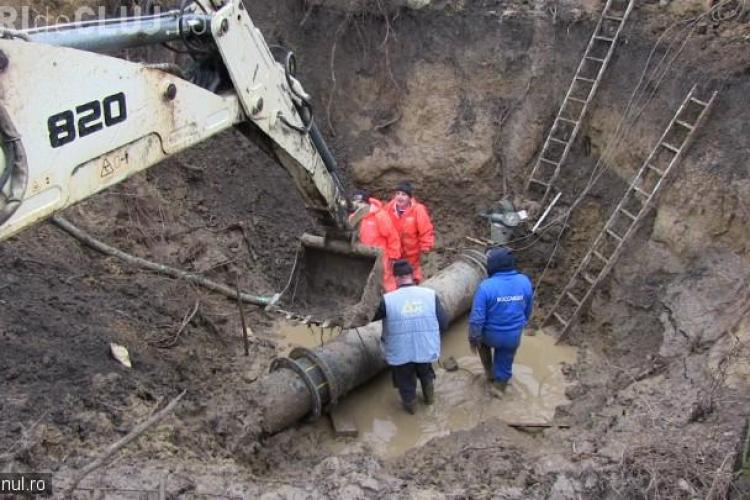 """BĂTAIE de JOC la Dej! Trei """"Dorei"""" au lăsat localitatea fără apă de 3 zile – VIDEO"""