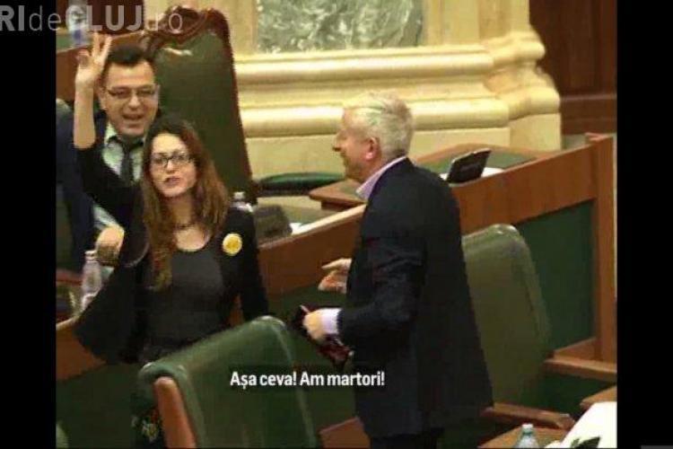 Atitudinea unui senator PSD față de o colegă de la USR: Mi-a spus s**i p*** VIDEO