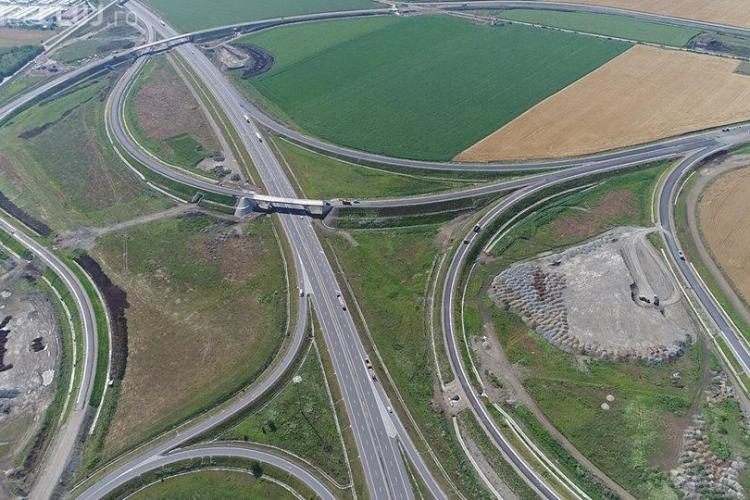 Guvernul PSD a finalizat 15,4 km de autostradă, în 2017