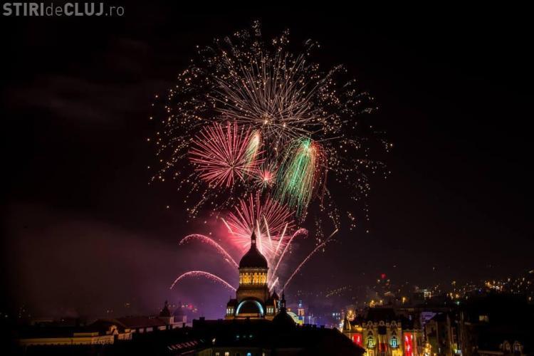 Cluj-Napoca: Programul Revelionului 2018. Foc de artificii și concerte în Piața Unirii