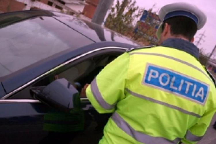 CLUJ: Minor prins conducând un autoturism pe drumurile publice