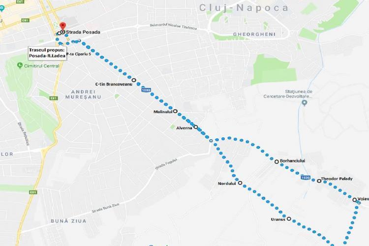 O nouă linie urbană pentru locuitorii din zona Romul Ladea - EXPLICAȚII