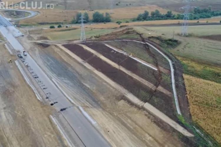 De ce nu e inaugurată Autostrada Sebeș - Turda: Aluneci ca în baie, pe gresie