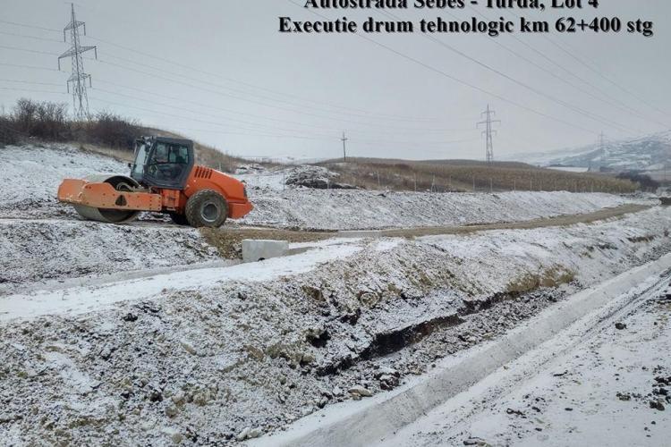 Teste pe austostrada Turda - Sebeș. E terminată, dar CNAIR acuză să sunt probleme - FOTO
