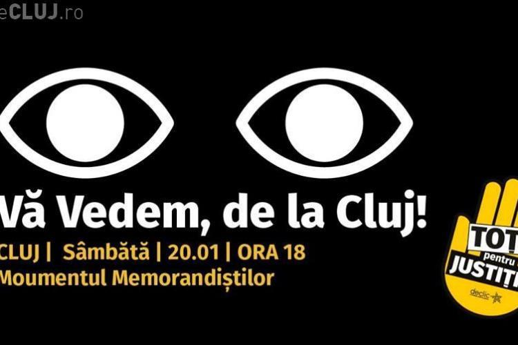Protest sâmbătă la Cluj. Participi?