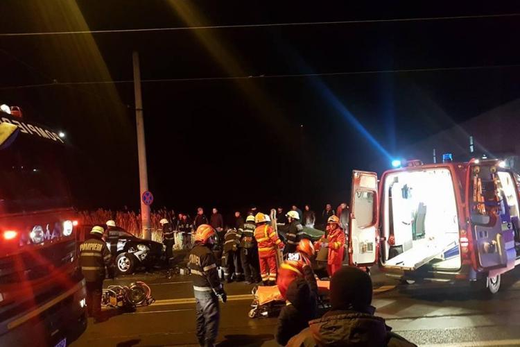 Accident cu OPT răniți pe Bulevardul Muncii, în zona depoului de tramvaie - FOTO