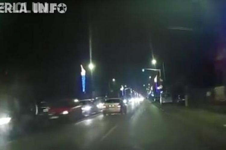 Accident în lanț la Florești! Cinci mașini au fost implicate VIDEO