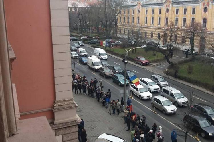 O judecătoare din Cluj a ironizat protestul judecătorilor și procurorilor - FOTO