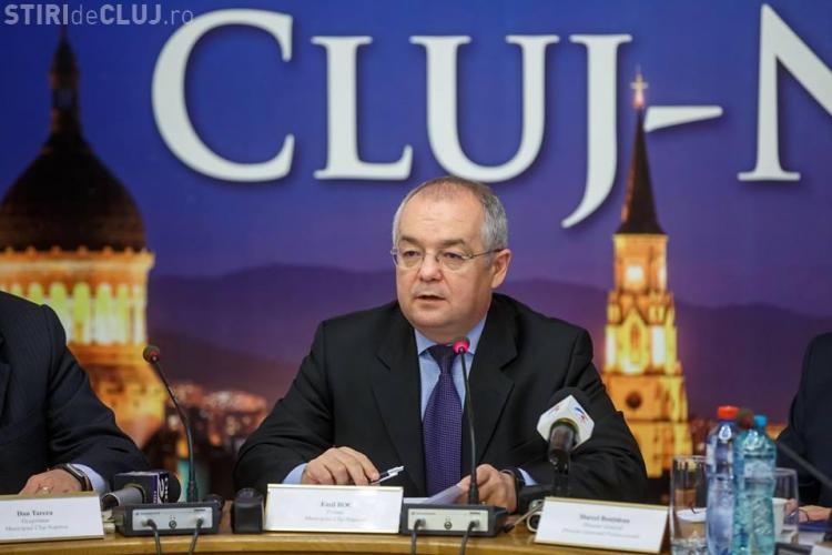 """Boc nu mărește impozitele, chiar dacă Clujul are o """"gaură"""" de 28 de milioane de euro"""