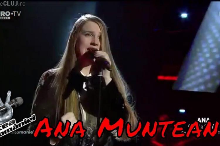 Ana Munteanu a câștigat Vocea României - VIDEO