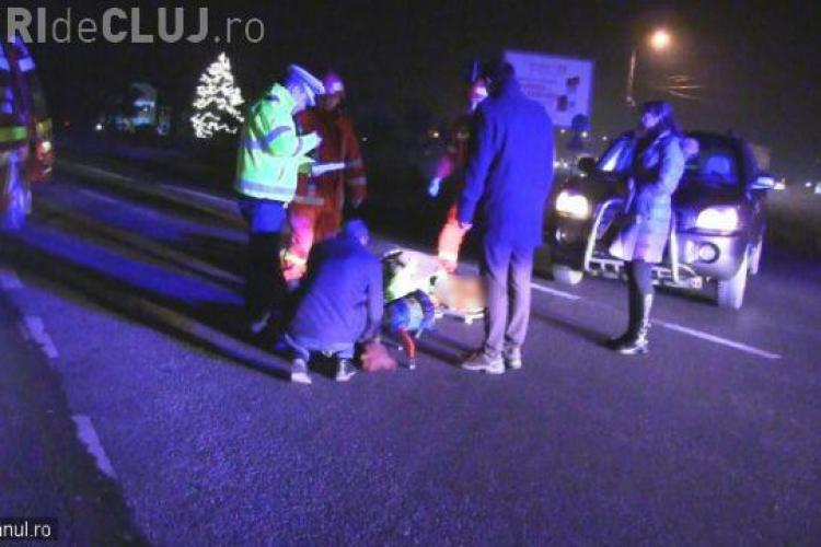 CLUJ: Biciclist rănit grav la Dej. Un șofer neatent nu i-a acordat prioritate VIDEO