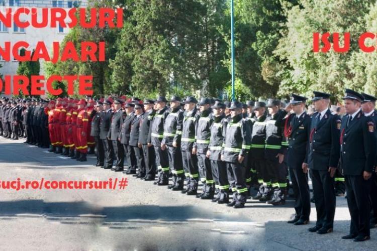 Cluj: Se fac angajări la pompieri