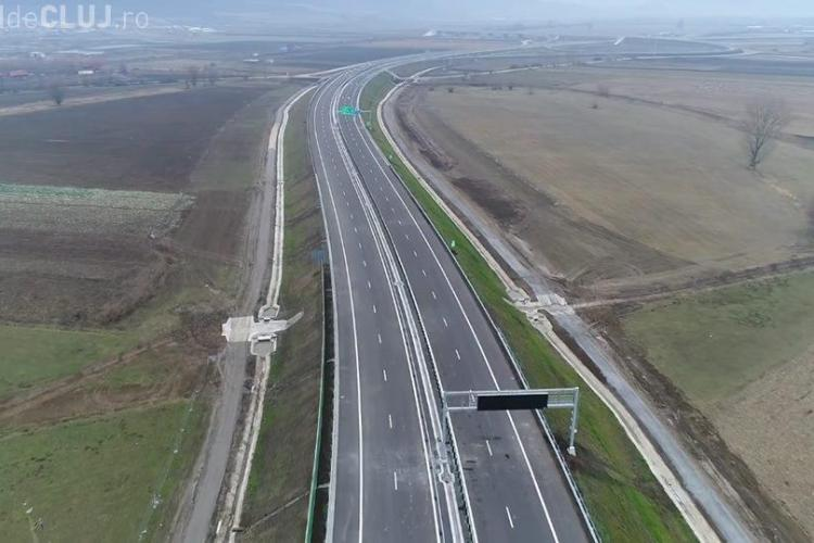 Lotul 3 al autostrăzii Sebeș - Turda e gata. CNAIR nu se grăbește să îl recepționeze - VIDEO