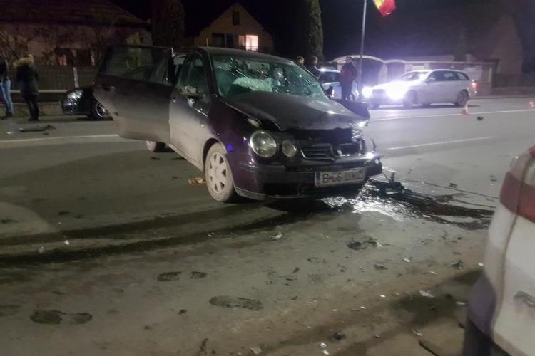 Accident în Florești! O șoferiță ar fi adormit la volan - FOTO