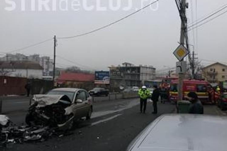 Șofer reținut de poliție după un accident pe strada Frunzișului