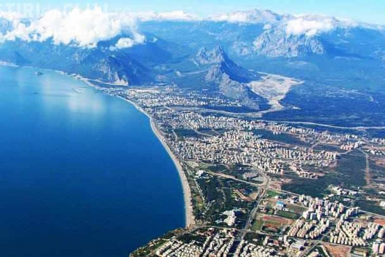 Zbor charter Cluj-Napoca - Antalya, din 2 iunie