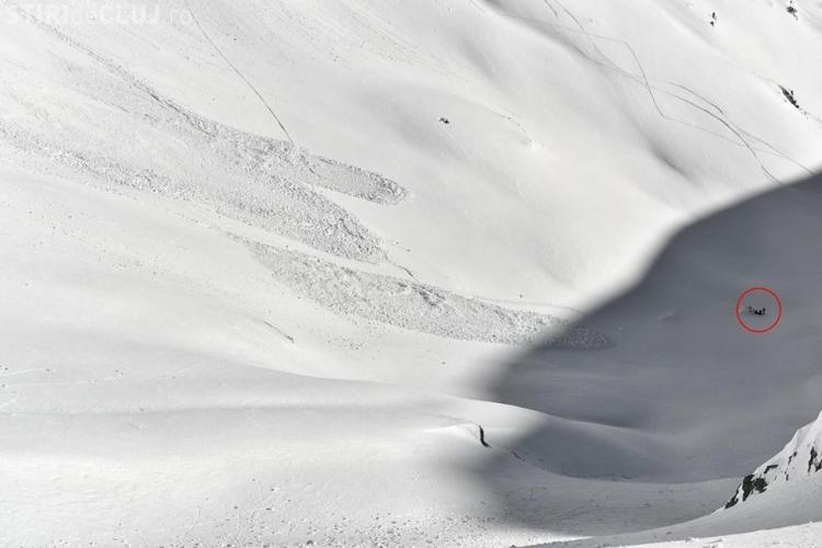 Salvamont Cluj a participat la salvarea unui grup de turiști surprinși de avalanșă - FOTO