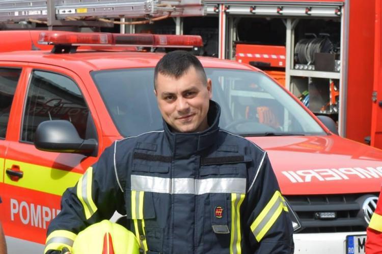 Un pompier aflat în timpul liber, printre primii salvatori la accidentul de pe Frunzișului